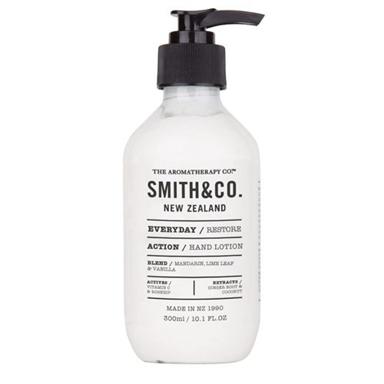 テレマコスノイズ賢明なSmith&Co. スミスアンドコー Hand&Body Lotion ハンド&ボディローション Restore リストア