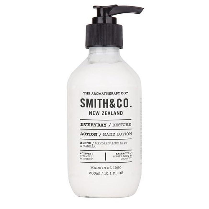 過ち磨かれた比較的Smith&Co. スミスアンドコー Hand&Body Lotion ハンド&ボディローション Restore リストア