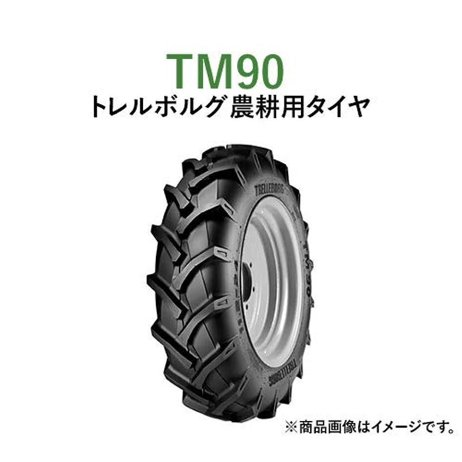 順番敬音声学トレルボルグ トラクター 農業用?農耕用バイアスタイヤ (チューブレスタイプ) TM90 12.4-36 TL PR8 2本セット