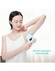 女性のためのIPLの毛の取り外し装置IPLの毛の除去剤、家の使用IPLレーザーの毛の取り外し、痛みのない永久的なレーザーの毛の取り外し機械、顔のボディビキニラインUnderarms- 300000のための改善IPLの毛の...
