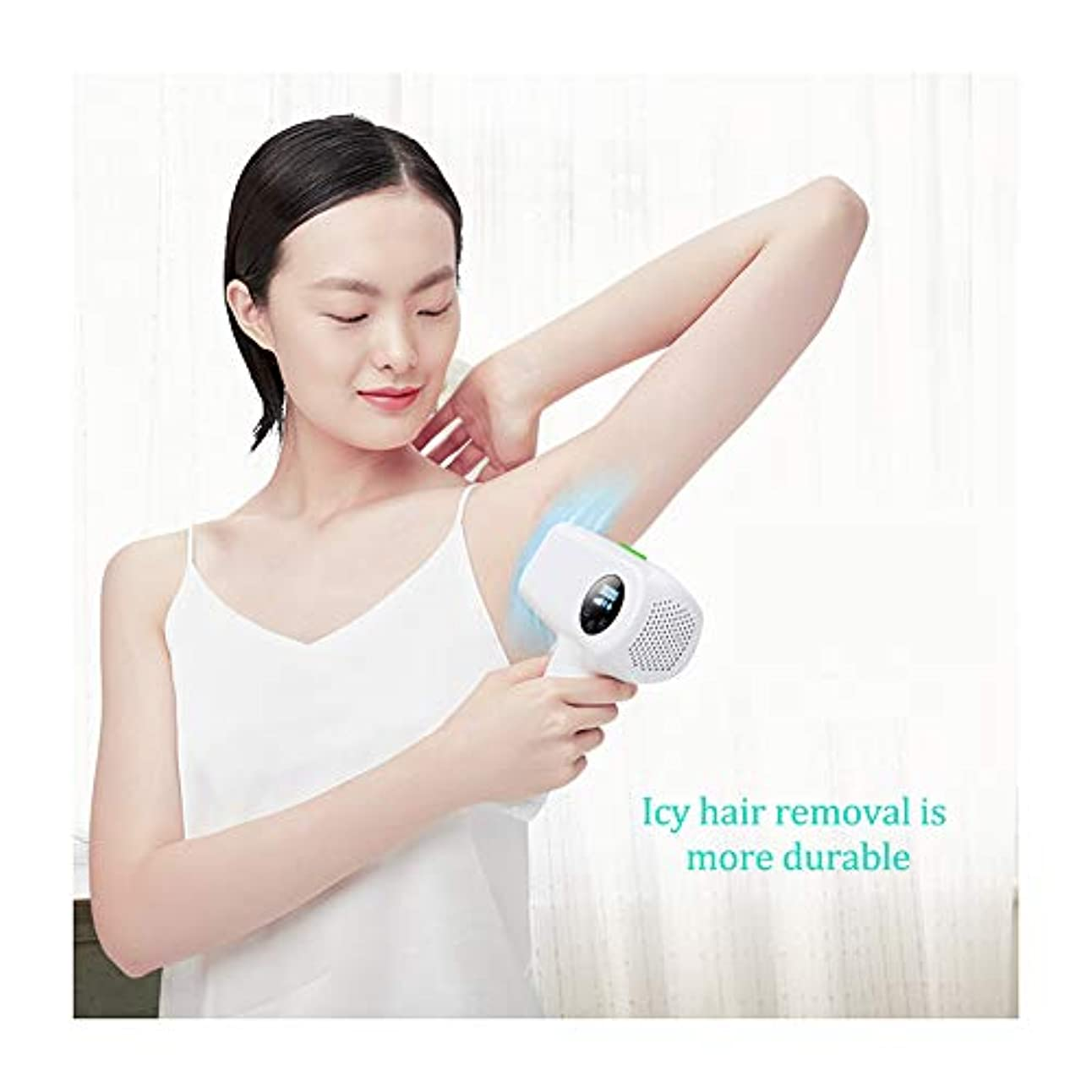 ひばり居心地の良い凍結女性のためのIPLの毛の取り外し装置IPLの毛の除去剤、家の使用IPLレーザーの毛の取り外し、痛みのない永久的なレーザーの毛の取り外し機械、顔のボディビキニラインUnderarms- 300000のための改善IPLの毛の...