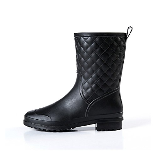 【Y's factory】 レディース おしゃれ な 長靴 レイン ブーツ 23 ~ 25.5