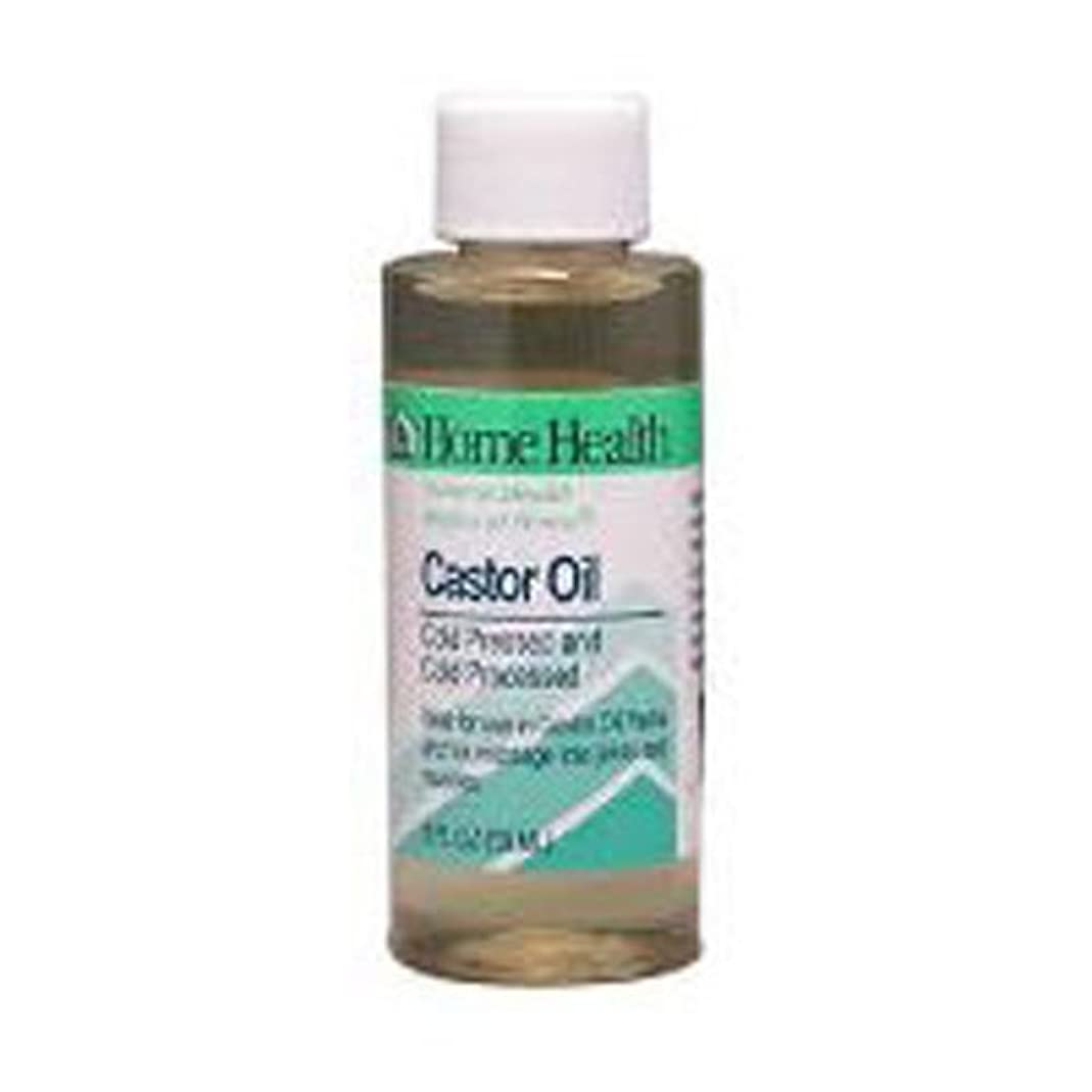 凍った描写インペリアルHome Health Castor Oil Cold Pressed & Cold Processed 8 fl. oz. (Pack of 2) by Home Health