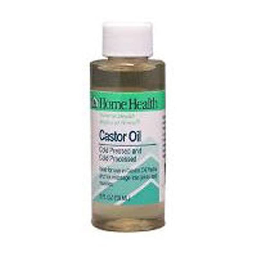 タウポ湖読む大惨事Home Health Castor Oil Cold Pressed & Cold Processed 8 fl. oz. (Pack of 2) by Home Health