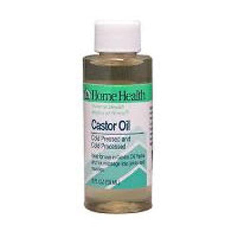 科学者染色構造Home Health Castor Oil Cold Pressed & Cold Processed 8 fl. oz. (Pack of 2) by Home Health