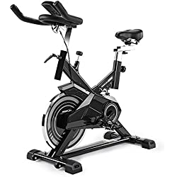 ProFlex SPN750 II 13kg Flywheel Commercial Spin Bike, Grey