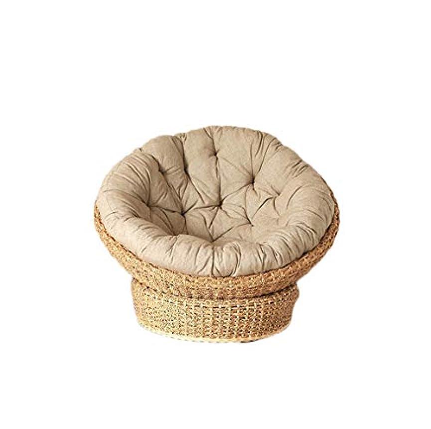 パン屋驚くべきどこでもペットベッド カドラー 猫 小型犬 子供用椅子 パパサンチェア ミニ 1人掛け ソファー ウォーターヒヤシンス 籐 ラタン ペット用品 キャット ドッグ キッズチェア ナチュラル アジアン おしゃれ