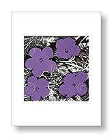 アンディ・ウォーホル Andy Warhol: Flowers, c.1965 (4 purple) アートポスター