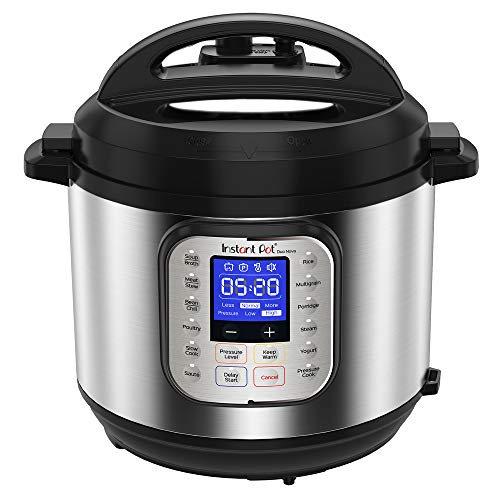 Instant Pot Duo Nova Electric Multi-Use Pressure Cooker, Stainless Steel, 5.7L