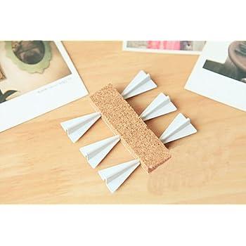 すごい!紙飛行機? 壁に 刺さる おしゃれな 紙飛行機型 ピン 押しピン 画鋲