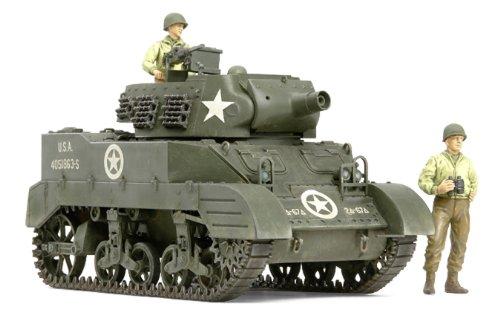 1/35 ミリタリーミニチュアシリーズ No.312 アメリカ自走榴弾砲 M8 出撃待機セット (人形3体付き) 35312