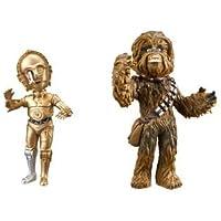 スター?ウォーズ ワールドコレクタブルフィギュアvol.5 2種セット【チューバッカ/C-3PO】