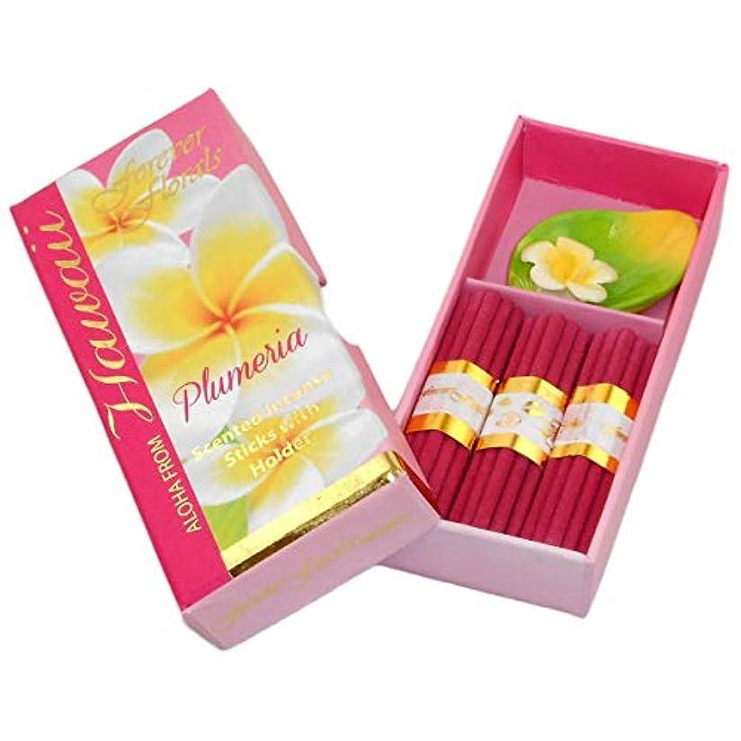 半導体コンベンションアジャハワイアンForever Florals Incenseギフトボックスセットプルメリア 4 Sets