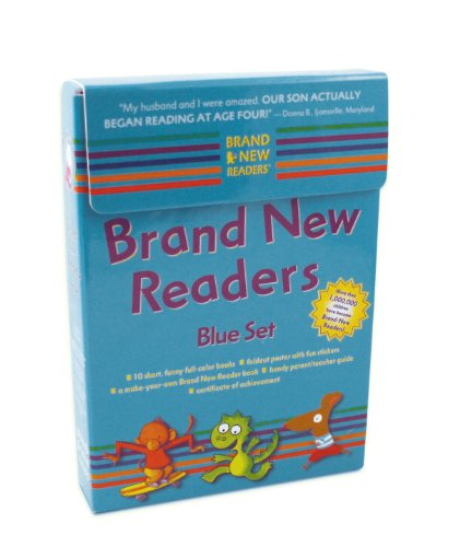 Brand New Readers Blue Setの詳細を見る