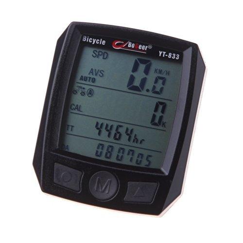 zmart サイクルコンピューター BoGeer YT-833 自転車 速度 ライト
