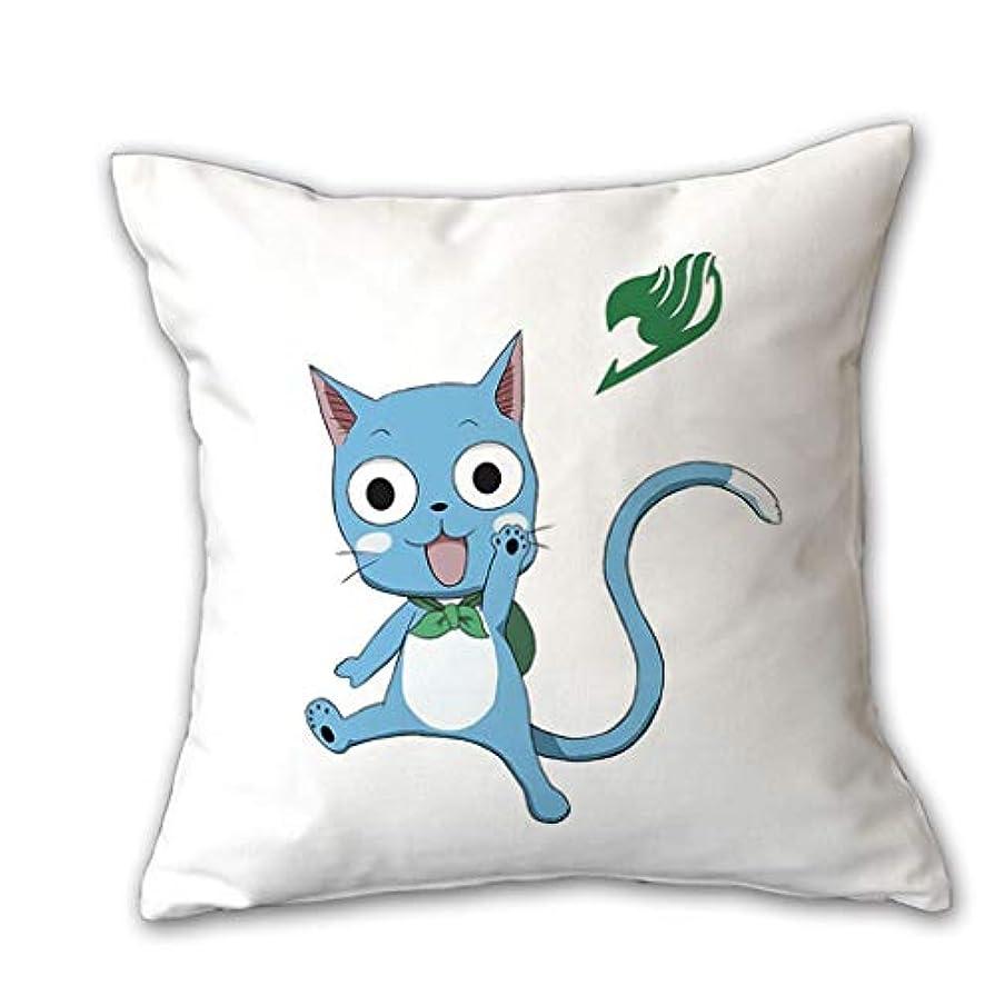 噂リズム絶えずLIUXIN クリエイティブ枕漫画アニメフェアリーテールピロー誕生日ギフトクッションマルチカラーマルチサイズオプション ソファ枕 (Color : F, Size : 45cm×45cm)