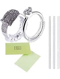 指輪 サイズ調節 リングアジャスター ring adjuster リングストッパー 銀磨きクロス布付き 3本セット