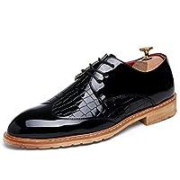 [PIRN] 革靴 メンズ ローカット オシャレ かっこいい メンズ ブラック フォーマル 新生活 リクルート 24.0cm 結婚式 新生活 卒業式 入園入学 大人 快適 歩きやすい カジュアル 軽量 滑り止め ビジネスシューズ
