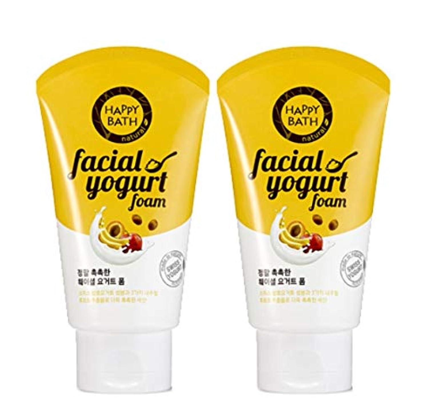 愛情作業陪審(1+1)ハッピーバスフェイシャルヨーグルトモイストフォームHAPPY BATH Facial Yogurt Moist Foam 韓国の人気商品 Korean Beauty Womens