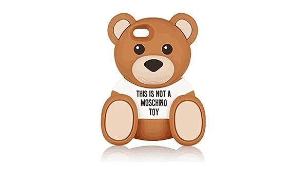 ccf75bb396 Amazon   Moschino (モスキーノ) Bear silicone iPhone6 ケース ベアー シリコンケース くま  [並行輸入/正規品]   家電&カメラ オンライン通販