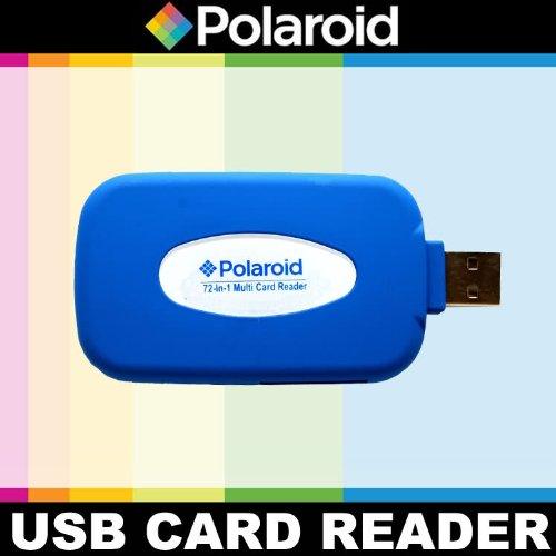 Polaroidゴム引きHigh Speed 721リーダー/ライターfor the Sonyアルファ- c3、7、6、5N , 5r、5t、5、3、3N、f3、slt-a33, a35, a37, a55, a57, a58, a65, a77, a99, DSLR a100, a200, a230, a290, a300, a330, a350, a380, a390, a450, a500, a560, a550, a700, a850, a900, a7, a7r , a3000, a5000, a6000デジタルSLRカメラ