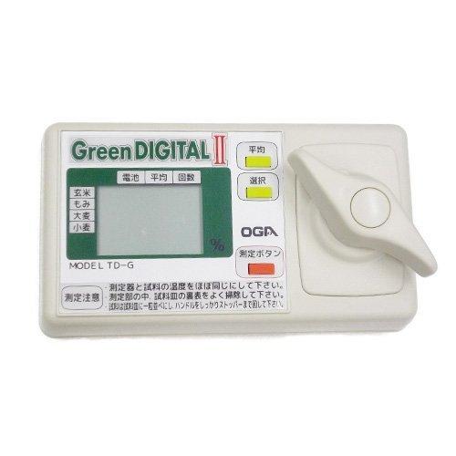 米麦水分測定器 水分計 グリーンデジタル2  TD-G 【オ...