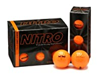 (Orange) - Nitro Tour Distance Golf Balls (Pack of 12)
