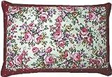 大型そばがら枕(ピンク)/ピロケース付き/日本製/高さ調整用のファスナー付。