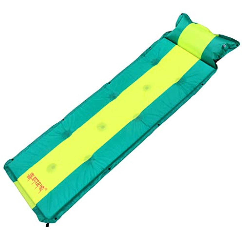 火山学者有名人振動させる車の荷台、屋外の自動膨脹可能なパッドの単一および二重はステッチすることができますより厚い多機能の湿気の障壁のピクニック浜の寝台194 * 56 * 3CM
