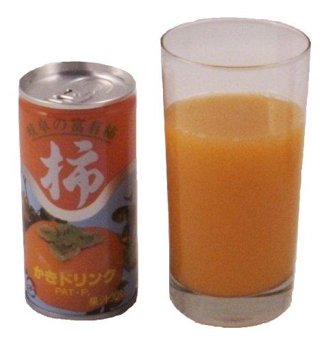 ビタミンC、食物繊維たっぷり!富有柿から生まれた健康ジュース 柿ドリンク 12本入り