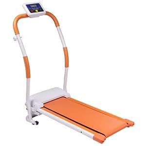 PURE RISE(ピュアライズ) 電動 ウォーキング マシン ルーム ウォーカー ランナー プログラム 機能搭載 オレンジ
