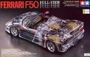 タミヤ 1/24 フルビュー フェラーリF50 (1/24 スポーツカー:24223)