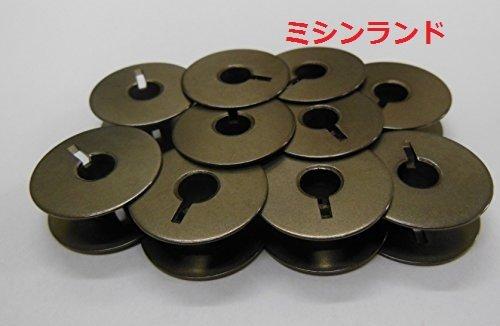 ブラザー ジャノメ JUKI ジューキ シンガー 職業用、工業用ミシン共通ボビン10個入
