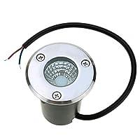 Lorny(TM)ハイパワー5W 12V IP67防水COB LED芝生ライト景観ランプ優れた照明効果強化ガラスショックプルーフガーデン [並行輸入品]