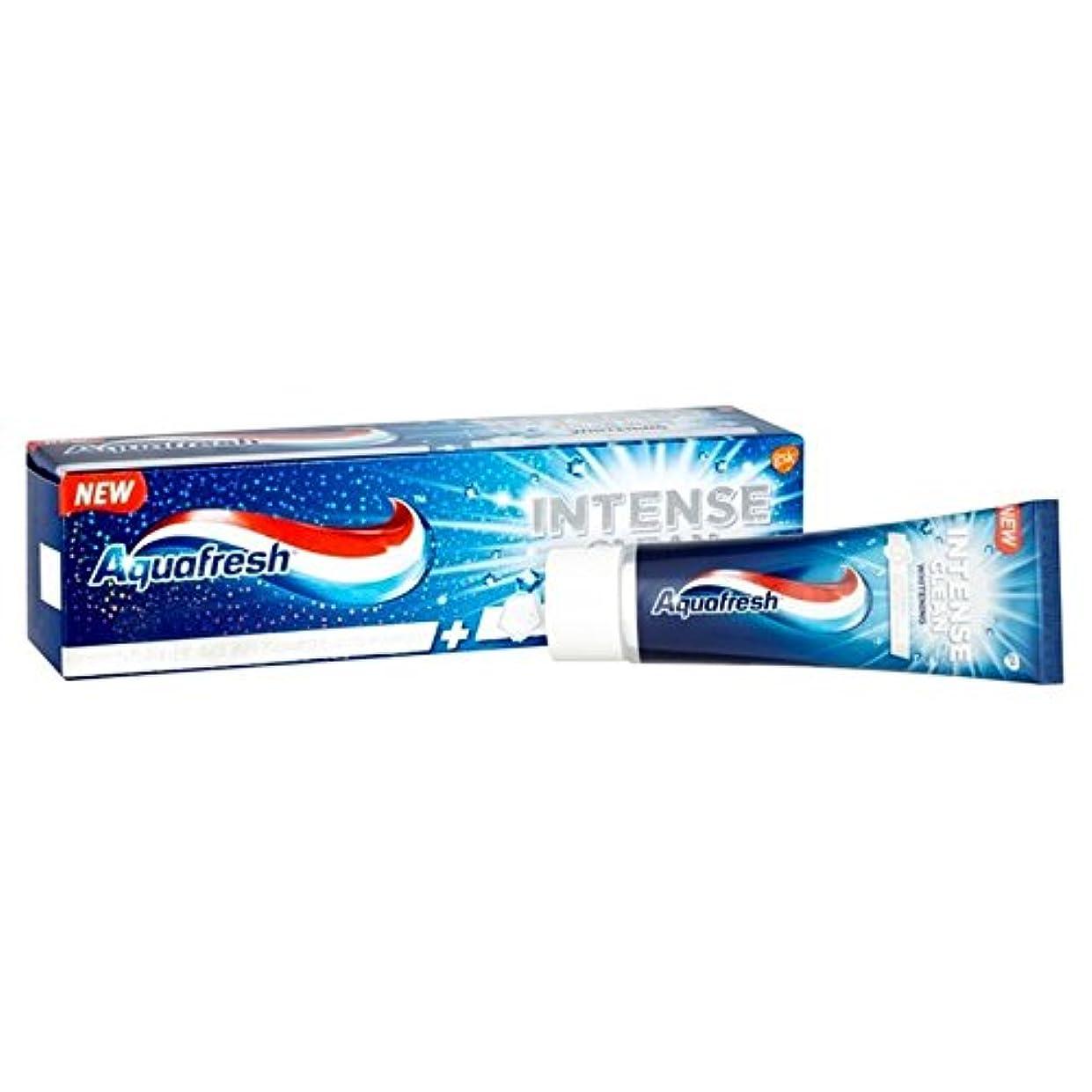 口述する有害吸うAquafresh Intense Clean Whitening 75ml (Pack of 6) - アクアフレッシュ強烈なクリーンホワイトニング75ミリリットル x6 [並行輸入品]