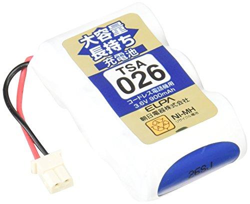エルパ 子機用 大容量長持ち充電池 TSA-026