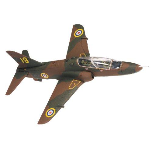 コーギー 1/72 BAeホーク T.1A イギリス空軍 第4飛行訓練学校 第19飛行隊 創立70周年記念 バレー基地 08年
