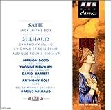サティ:びっくり箱(ミヨー編)、ミヨー:交響曲第10番、バレエ「男とその欲望」