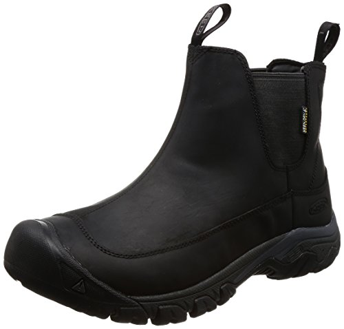 [キーン] KEEN メンズ 防水ウィンターブーツ Anchorage Boot III WP Black/Raven 28cm(US 10) | 1017789