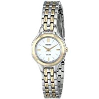 Seiko Women's SUP210 Classic Solar-Power Two-Tone Watch