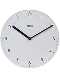 ブラウン BRAUN クオーツ 最新製品掛け時計 BC06W [並行輸入品]