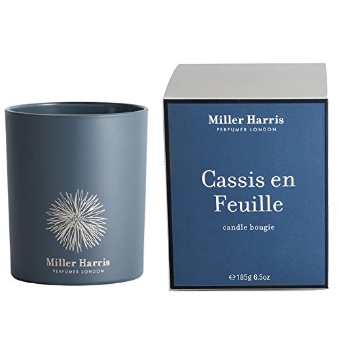 タフホーン致命的ミラーハリス Candle - Cassis En Feuille 185g/6.5oz並行輸入品