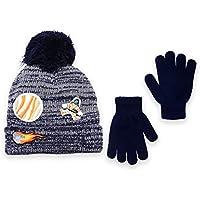 Polar Wear Boys Soft Stretch Knit Beanie Hat & Gloves Sets