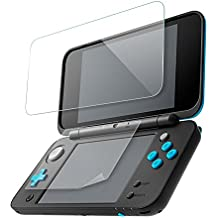 Nintendo 2DS LL 9H 強化 ガラスフィルム+フィルムセット 任天堂 2DS LL 硬度9H 日本製素材 飛散防止 指紋防止 高感度タッチ 気泡ゼロ 自己吸着 高透過率 (上画面9Hガラスフィルム 0.2mm + 下画面フィルム 0.125mm) TGP-N2DSLL-105 [video game]
