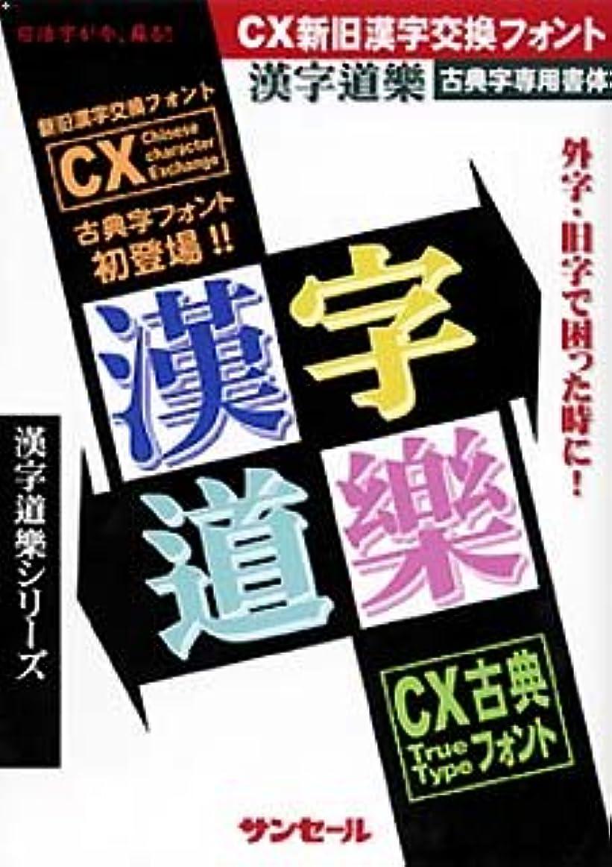 漢字道樂シリーズ CX古典明朝(R)
