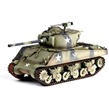 1:72 Pre-painted model M4A3 (76) w Sherman tank 12th armored division No. 714 battalion 1944 Ardennes Belgium