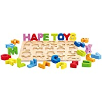 Alphabet Stand Up Kid 's木製学習パズル
