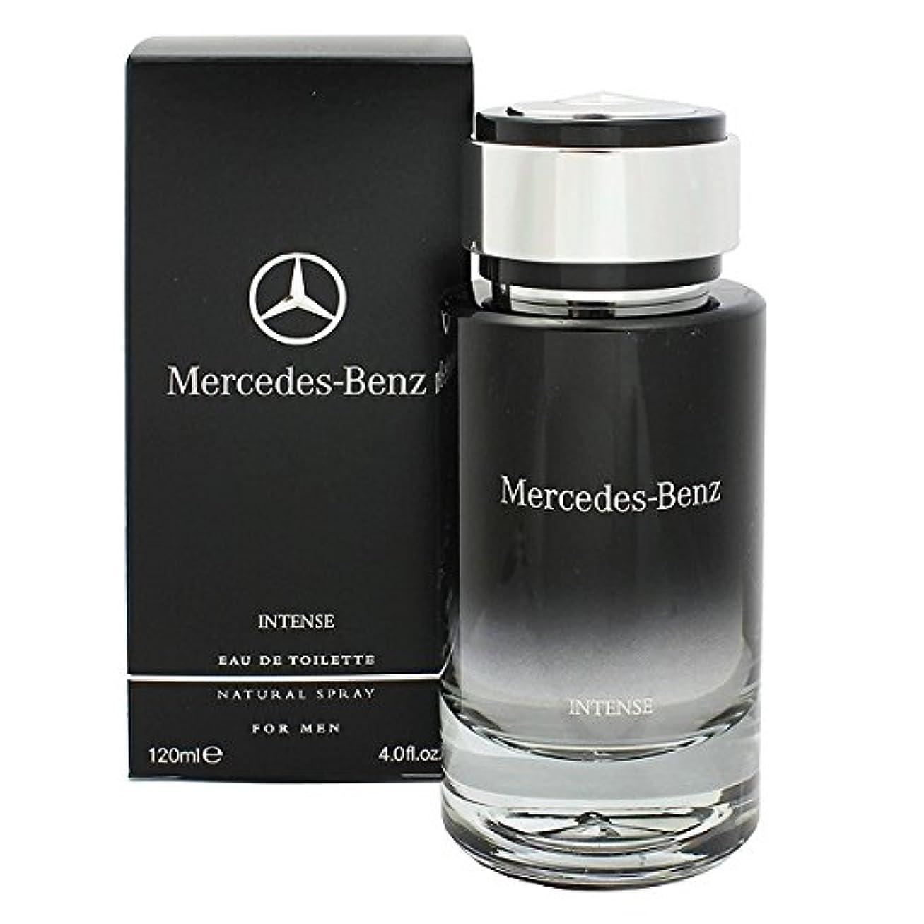シャンパンふけるクラシカルMercedes-Benz Intense (メルセデス ベンツ インテンス) 4.0 oz (120ml) EDT Spray for Men