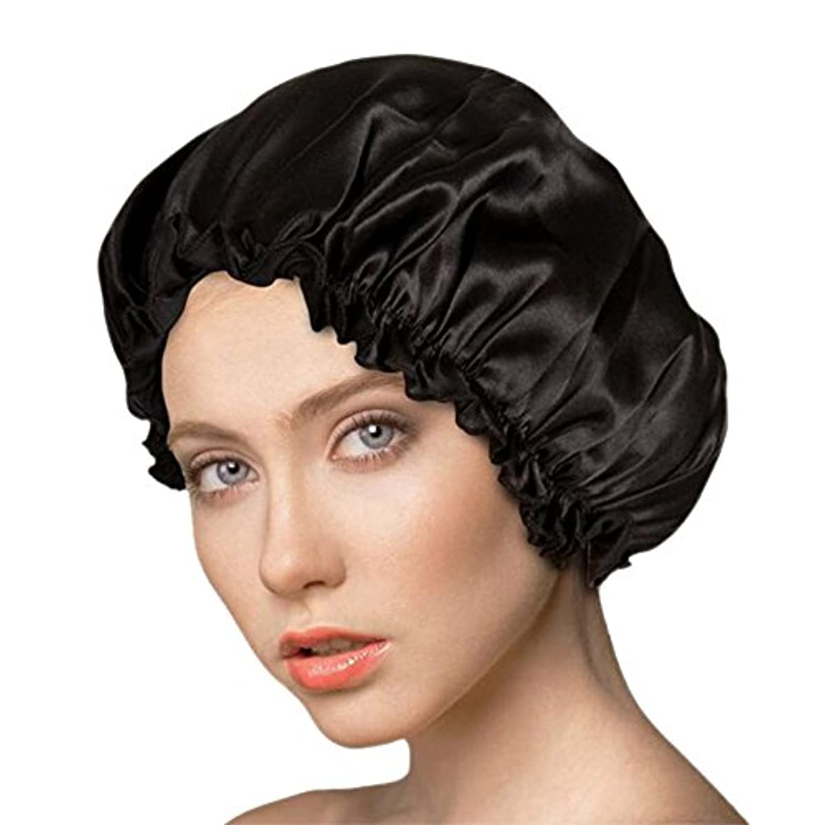 第九滅びるめるアンミダ(ANMIDA)シルク100%ナイトキャップ 天然シルク ナイトキャップ ヘアーキャップ メンズ レディース 美髪 就寝用帽子 室内帽子 通気性抜群