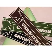 サーフィン ステッカー CHRISTENSON クリステンソン クリステンソン ステッカー 小